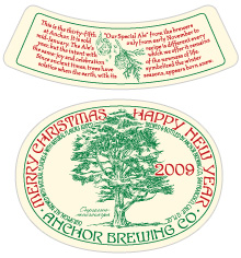 anchorchristmasale - Anchor Brewing Christmas Ale