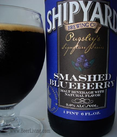 Smashed Blueberry from Shipyard Brewing | Beer Living
